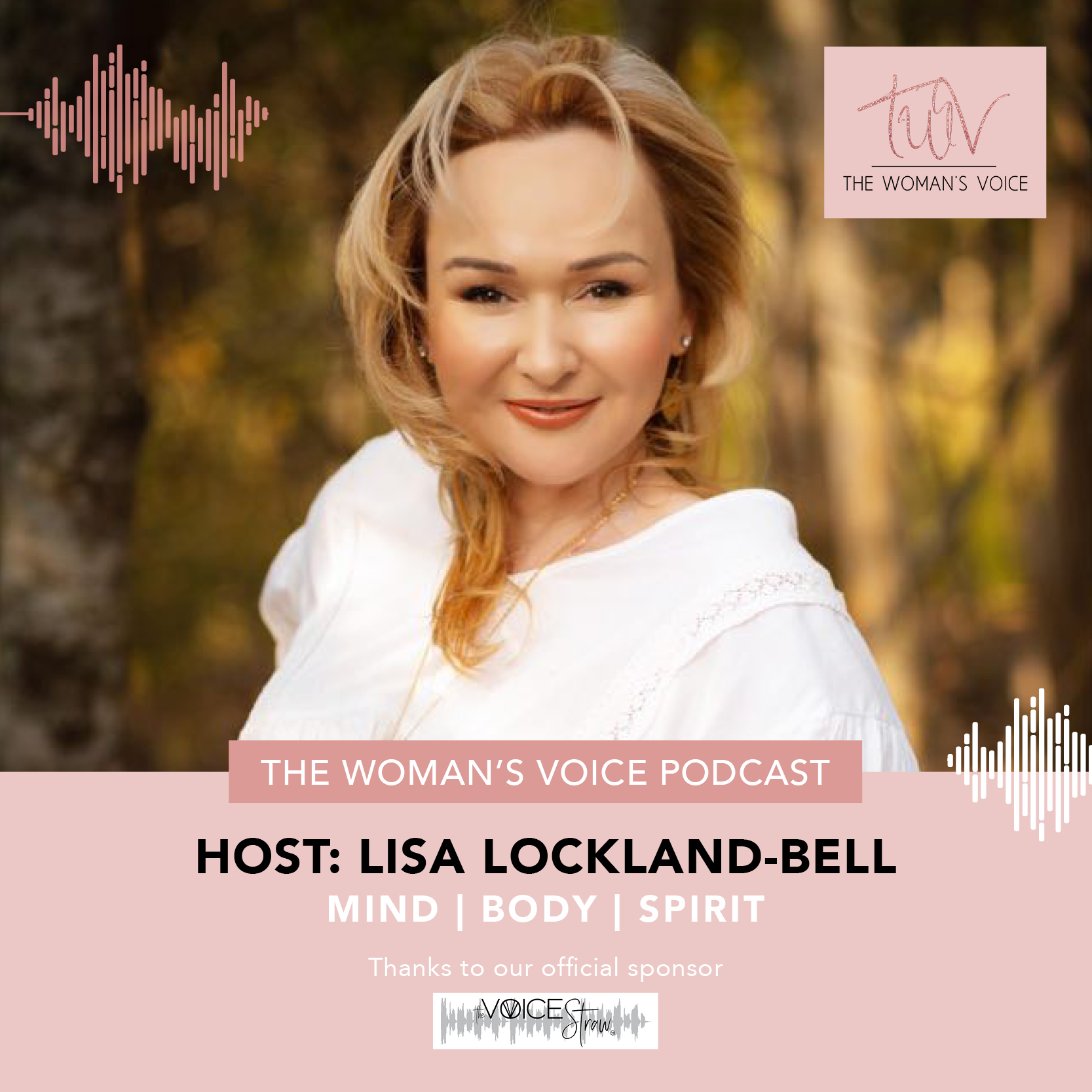 LLB_The Womans Voice_Podcast_Generic_LinkedIn Post