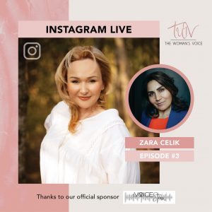 LLB_The Womans Voice_Instagram Live_LinkedIn Post
